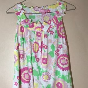 Vintage Lilly Pulitzer Sz 2 Floral Tunic Top: 2020
